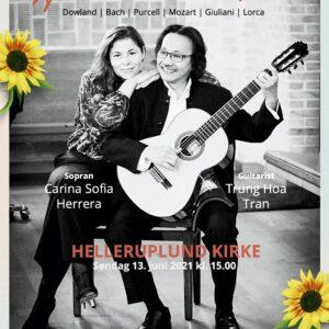 Klassisk koncert med sopran og guitar